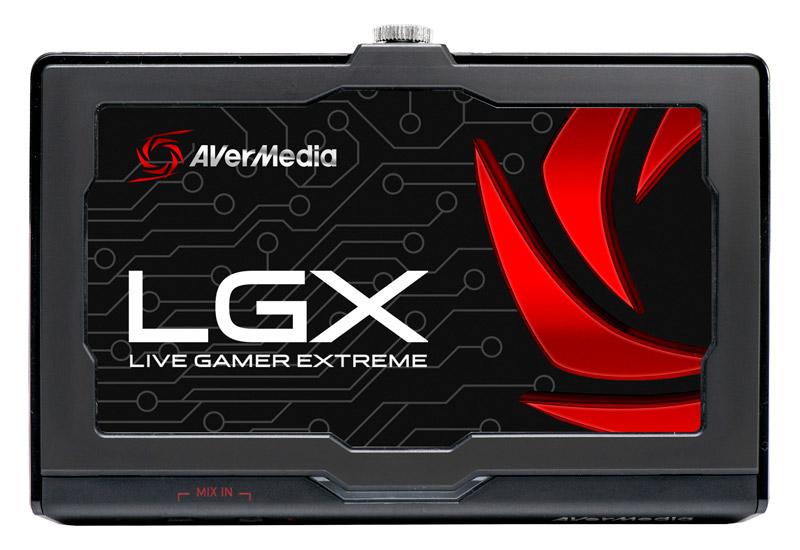 AVerMedia Live Gamer EXTREME  HD1080p/60fps超高画質の遅延ゼロゲームキャプチャー  (GC550)