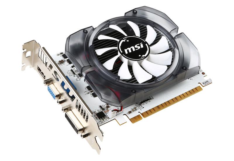 MSI N730-4GD3V2 NVIDIA GeForce GT 730搭載ショートサイズビデオカード (N730-4GD3V2)