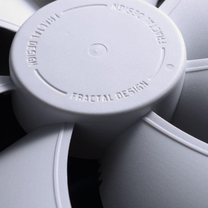 Fractal Design Dynamic GP-12 ホワイト 低騒音で大風量を実現 120mm径ファン (FD-FAN-DYN-GP12-WT)