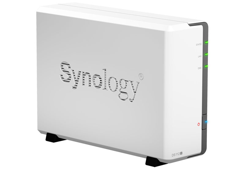 Synology DiskStation DS112j 家庭用のマルチメディア向けに最適な1ベイ NASサーバー (DS112j)