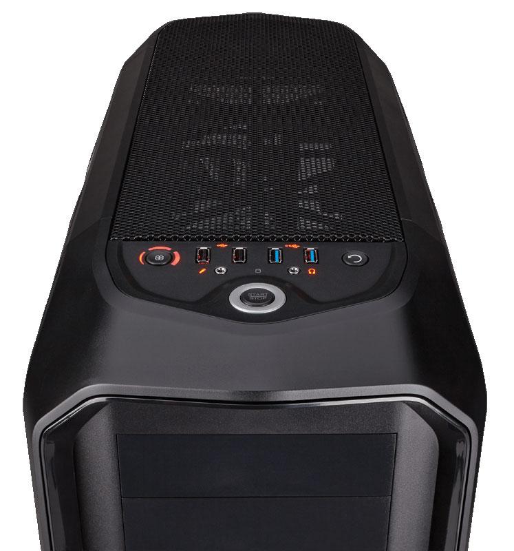 Corsair Graphite 780T グラファイトシリーズ フルタワーPCケース ブラック (CC-9011063-WW)