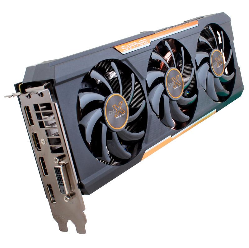 Sapphire R9 390X 8G GDDR5 PCI-E DVI/HDMI/DP3 TRI-X OC (SA-R9390X-8GD5R02/11241-02-20G)