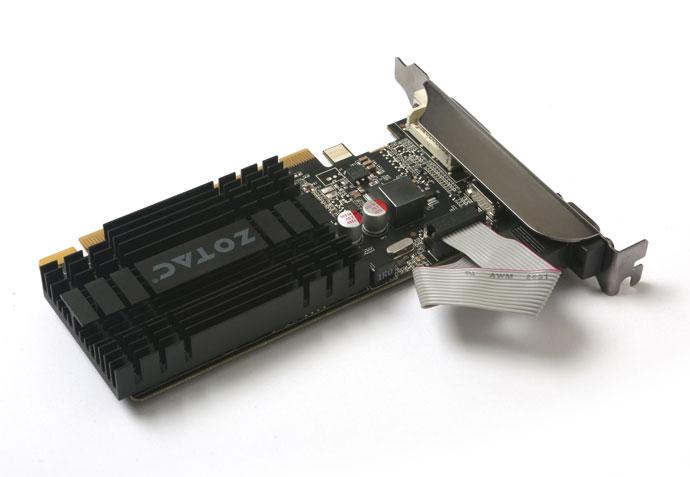 ZOTAC GT 710 2GB DDR3 LP NVIDIA GeForce GT 710搭載ファンレスビデオカード (ZTGT710-2GD3LP001/ZT-71302-20L)