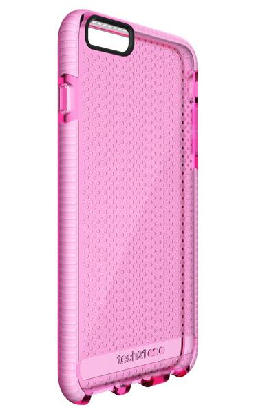 Tech21 Evo Mesh for iPhone 6 Plus/6s Plus ピンク/ホワイト 耐衝撃ケース  (T21-5017)