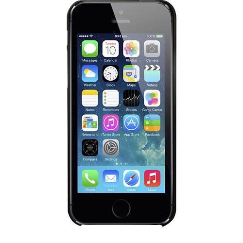 Native Union Clic Wooden Case for iPhone SE/5/5s ブラック ウッドケース (CLIC-BLK-WD-5-5SV2)