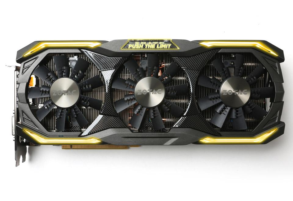 ZOTAC GeForce GTX 1080 AMP Extreme オーバークロック|ZTGTX1080-8GD5XAMPEX01/ ZT-P10800B-10P