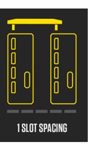 ZOTAC SLI HBブリッジ 1スロット GeForce GTX 1080/1070シリーズ対応|ZT-SLI0B-10L