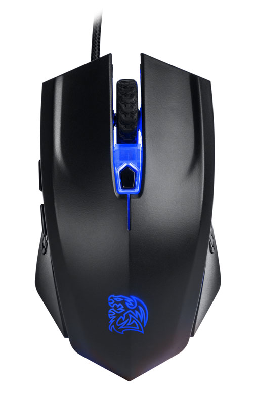 Thermaltake TT eSPORTS Talon X 専用マウスパッドを同梱したゲーミングマウス|MO-CPC-WDOOBK-01