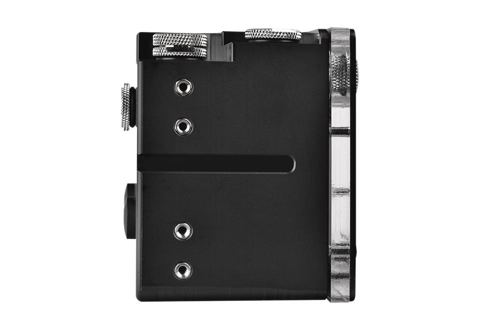 Thermaltake Pacific R2U 5インチベイ設置可能リザーバータンク|CL-W066-PL00BL-A