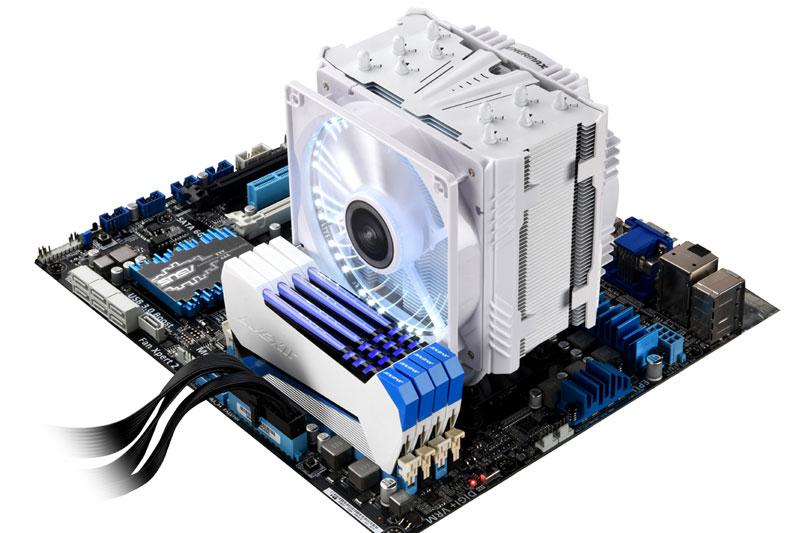 Enermax ETS-T50AXE LEDイルミネーション搭載サイドフロー型CPUクーラー|ETS-T50A-WVS