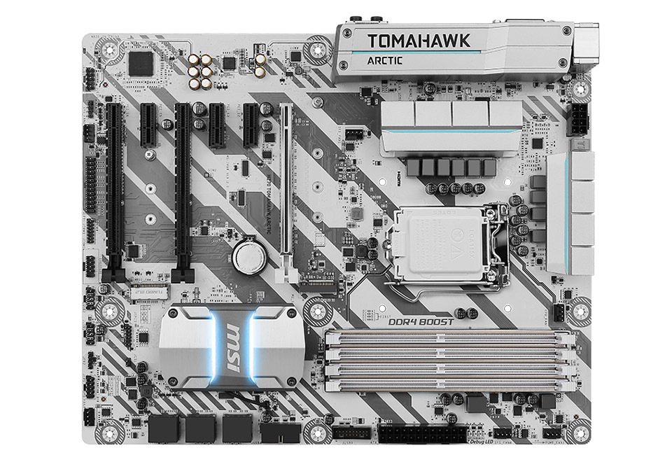 MSI H270 TOMAHAWK ARCTIC DETONATOR EDITION DeToNatorコラボした限定ATXマザーボード