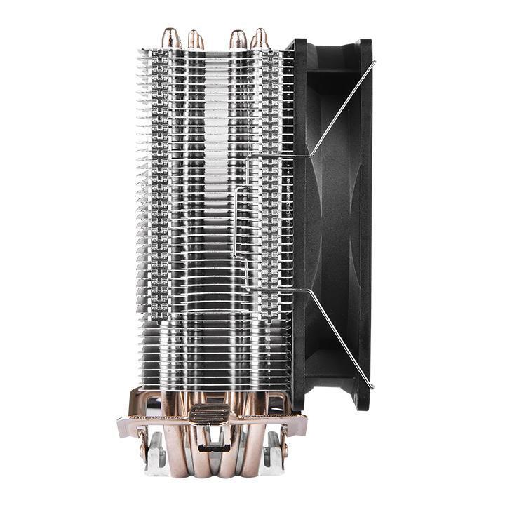 【アウトレット特価・新品】Thermaltake Contac Silent 12 ソケットAM4対応サイドフロー型CPUクーラー |CL-P039-AL12BL-A