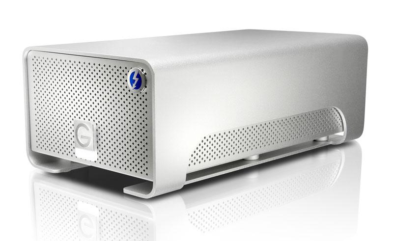 G-Technology G-RAID Thunderbolt 4TB RAID0外付けハードディスク (0G02289)
