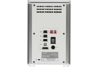 【処分特価品セット】Rocstor Arcticroc 外付けHDD容量8TB (4 x 2TB) FireWire400/800、USB2.0、eSATA