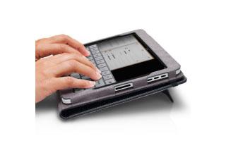 MarWare Eco-Vue for iPad第1世代 レザーケース (EViPaBK)