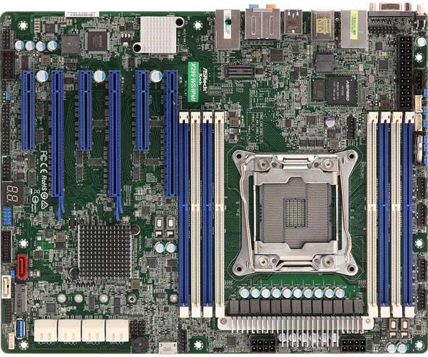 ASRock Rack X299 WS/IPMI ATXマザーボード|X299 WS/IPMI