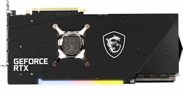 MSI GeForce RTX 3080 GAMING X TRIO 10G グラフィックボード
