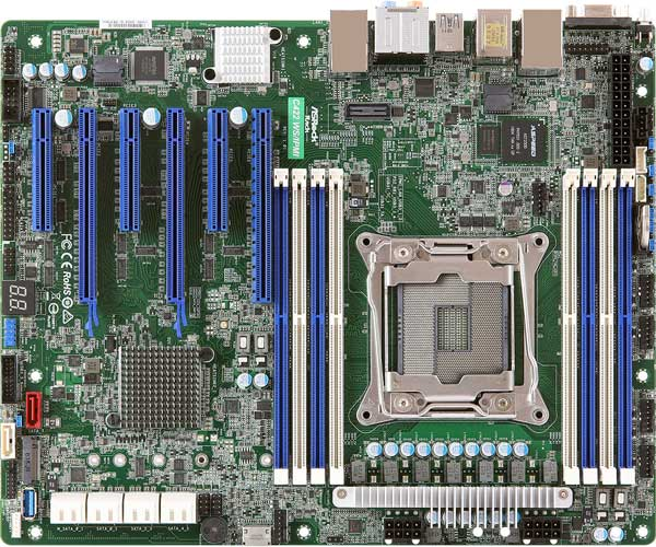 ASRock Rack C422 WS/IPMI ATXマザーボード|C422 WS/IPMI