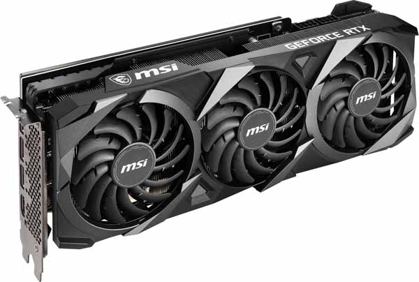 MSI GeForce RTX 3080 VENTUS 3X 10G OC グラフィックボード