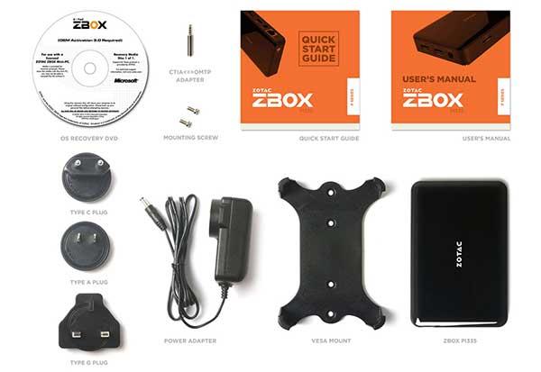 ZOTAC ZBOX PI335 Windows 10 Home コンパクトPC|ZBOX-PI335-W2B