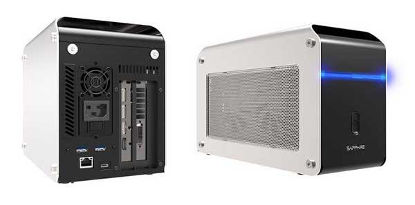 Sapphire GearBox Thunderbolt3 eGFX Solution 500W 外付けグラフィックスBOX|34263-01-44G