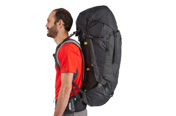 Thule Guidepost 75L 2017 Obsidian Mens バックパック 75リットル|222100