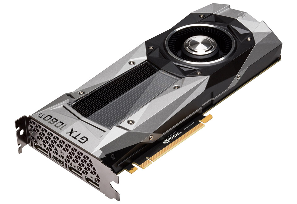 ELSA GeForce GTX1080 Ti Founders Edition|GD1080-11GERT