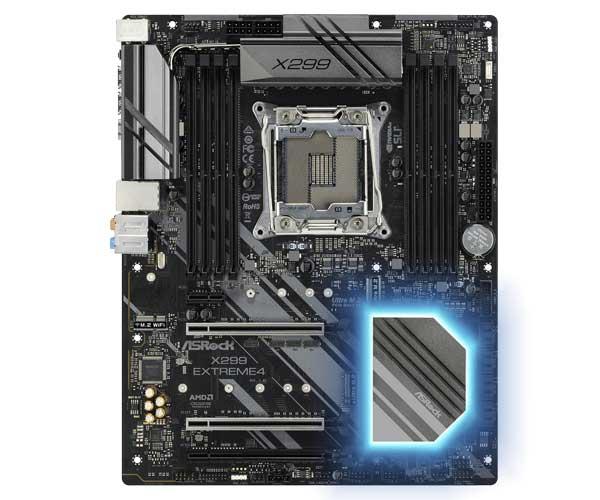 ASRock X299 Extreme4 ATXマザーボード|X299Extreme4