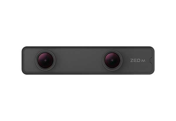 STEREO LABS ZED Mini 3Dマッピングをリアルタイムに表示する小型ステレオカメラ