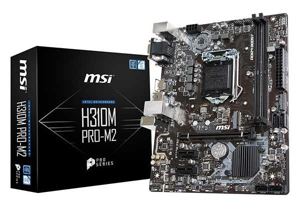 MSI H310M PRO-M2 microATXマザーボード
