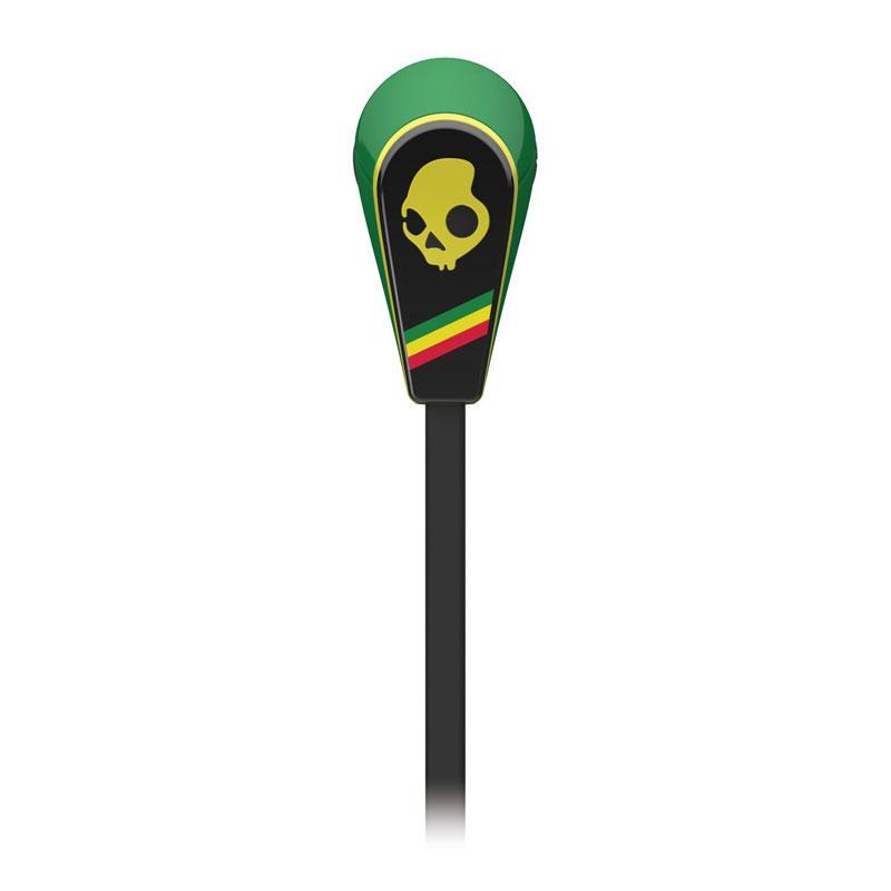SkullCandy 50/50 Rasta w/Mic 3 リモコン付きイヤホン ラスタカラー  (S2FFFM-260)