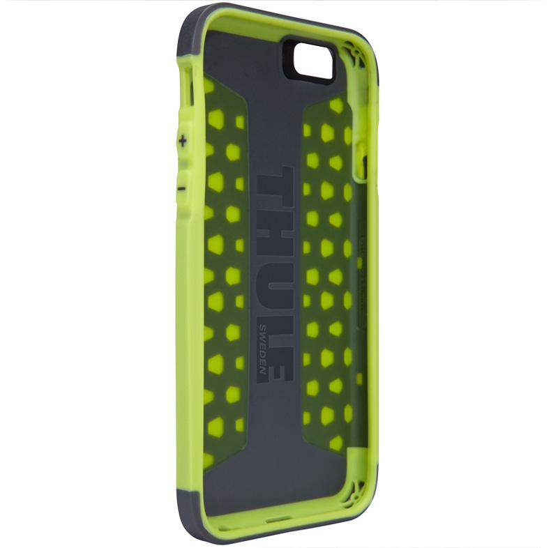 Thule Atmos X3 iPhone6 強い衝撃から保護するウルトラスリムケース グリーン Dark Shadow/Floro (TAIE-3124DS/FL)