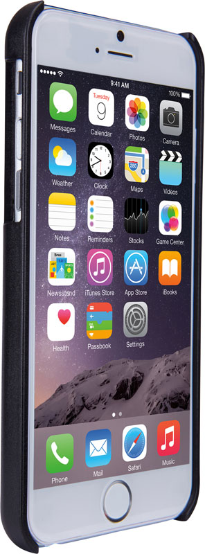 Thule Gauntlet iPhone6 Plus/6s Plus 衝撃やキズを防ぐ頑丈なスリムケース ブラック (TGIE-2125K)
