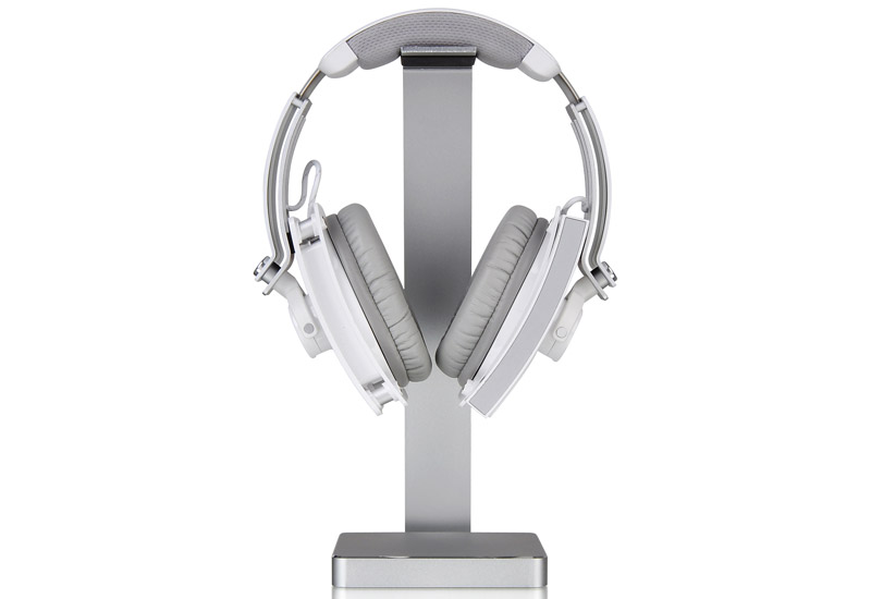 Thermaltake アルミ製ヘッドフォンスタンドLUXA2 E-One Aluminium Headphone Holder (HO-HDP-ALE1SI-00)
