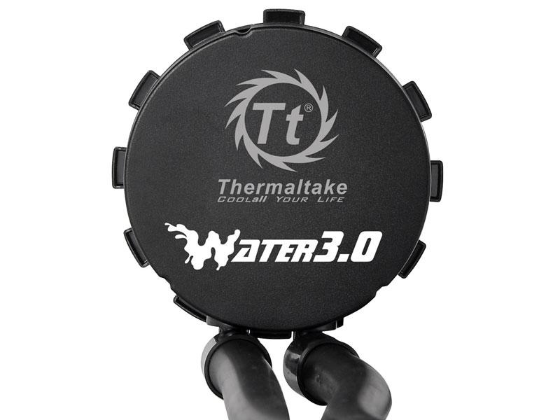 Thermaltake コンパクトな水冷一体型CPUクーラー  Water 3.0 Performer C (CLW0222-B)