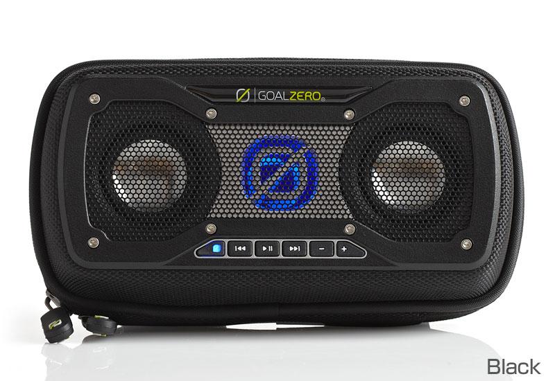 【クリアランス特価品・訳アリ品】Goal Zero ソーラーパネル搭載 Bluetoothスピーカー Rock Out 2 Solar Speaker - Black (94013)
