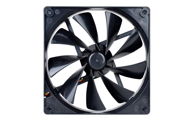 Thermaltake 低ノイズ、長寿命設計の冷却ファン 14cm Pure 14 (CL-F013-PL14BL-A)