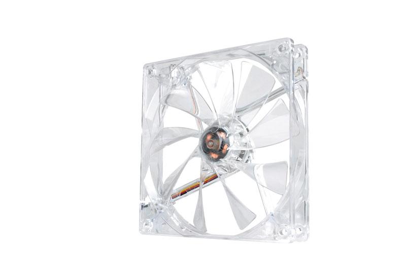 Thermaltake 低ノイズ、長寿命設計の冷却ファン 14cm Pure 14 LED White (CL-F028-PL14WT-A)