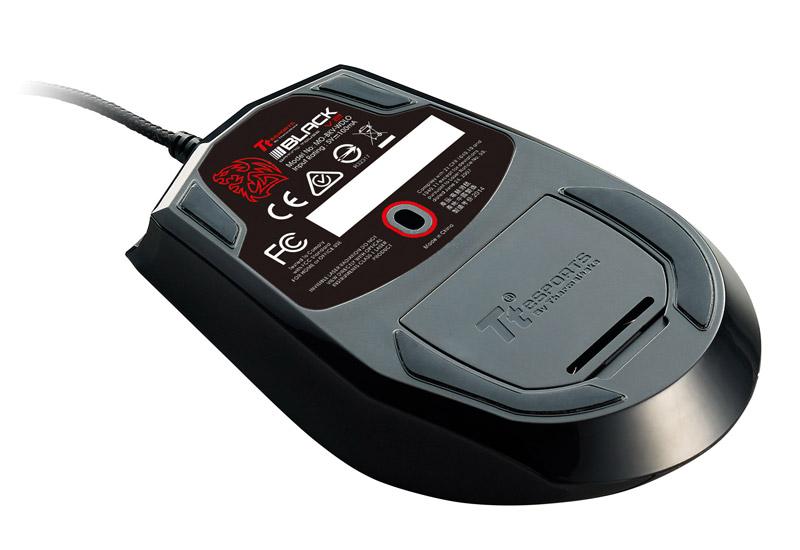 Thermaltake Tt eSPORTS BLACK V2 Laser Gaming Mouse 5,700dpiまでの解像度調整に対応ゲーミングマウス (MO-BKV-WDLOBK-01)