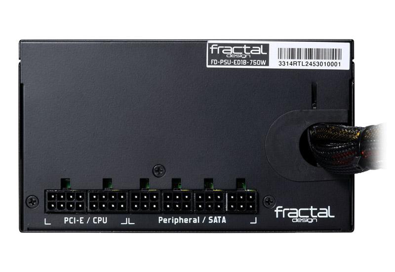 Fractal Design Edison M 650W セミモジュラータイプ電源ユニット(FD-PSU-ED1B-650W)