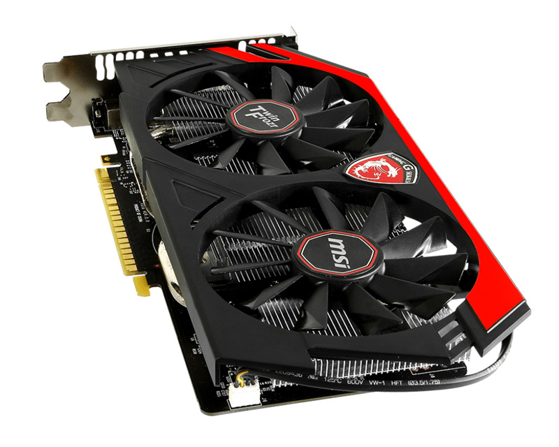 MSI NVIDIA GeForce GTX 750搭載ビデオカード  (GTX750 GAMING 1G)