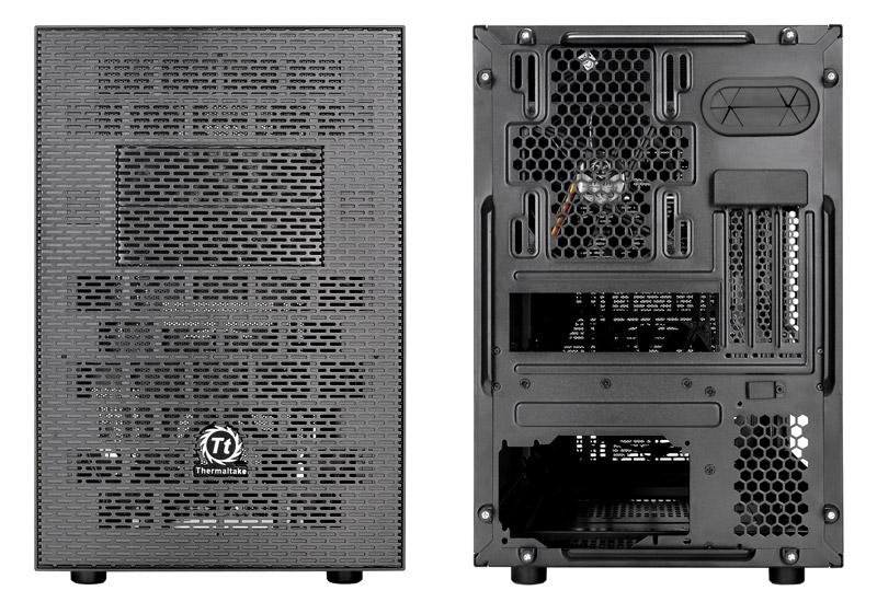 Thermaltake Core X1 2段スタック対応水冷キューブ型PCケース (CA-1D6-00S1WN-00)