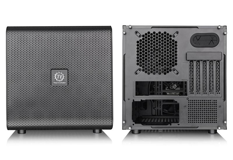 Thermaltake Core V21/Black/Win/SECC 水冷対応キューブ型PCケース (CA-1D5-00S1WN-00)