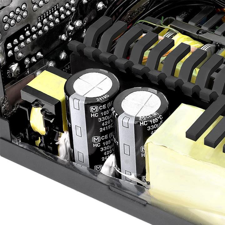Thermaltake フルモジュラータイプの電源ユニットToughPower Grand 850W Pllatinum (PS-TPG-0850FPCPJP-P)