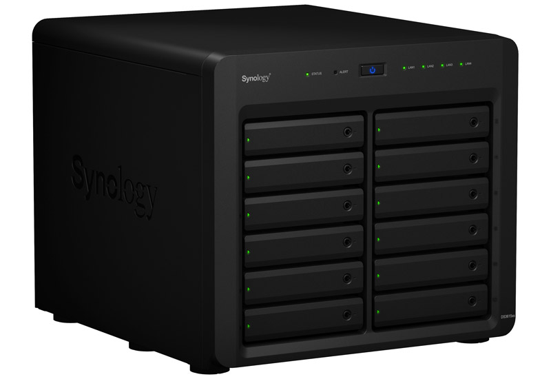 Synology DiskStation DS3615xs Intel Core i3-4130 CPU搭載12ベイNAS (DS3615xs)