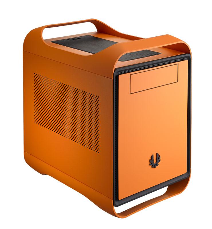 BitFenix Prodigy Atomic Orange Mini-ITXに対応したキューブ型ゲーミングPCケース (BFC-PRO-300-OOXKO-RP)