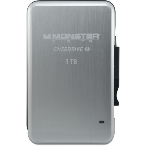 Monster Digital 1TB OverDrive Thunderbolt 外付けSSD (SSDOT-1000-J)