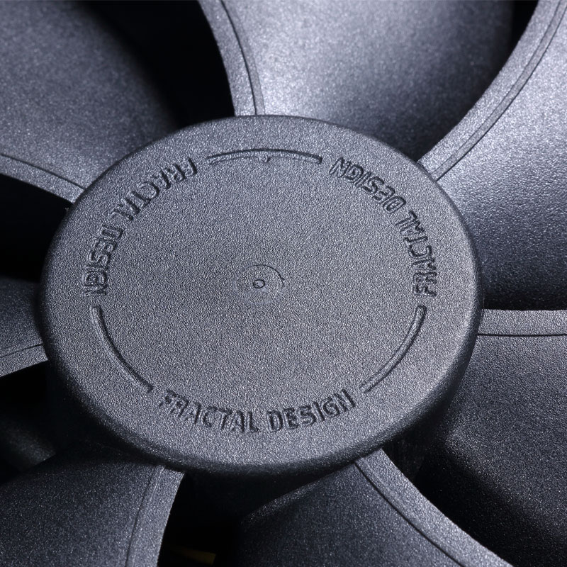Fractal Design Venturi HP-14 PWM  長寿命の流体軸受け140mm径ファン (FD-FAN-VENT-HP14-PWM-BK)