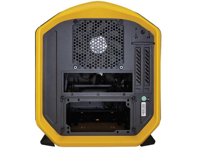 Corsair Graphite 380T イエロー Mini-ITX対応ポータブルPCケース (CC-9011065-WW)