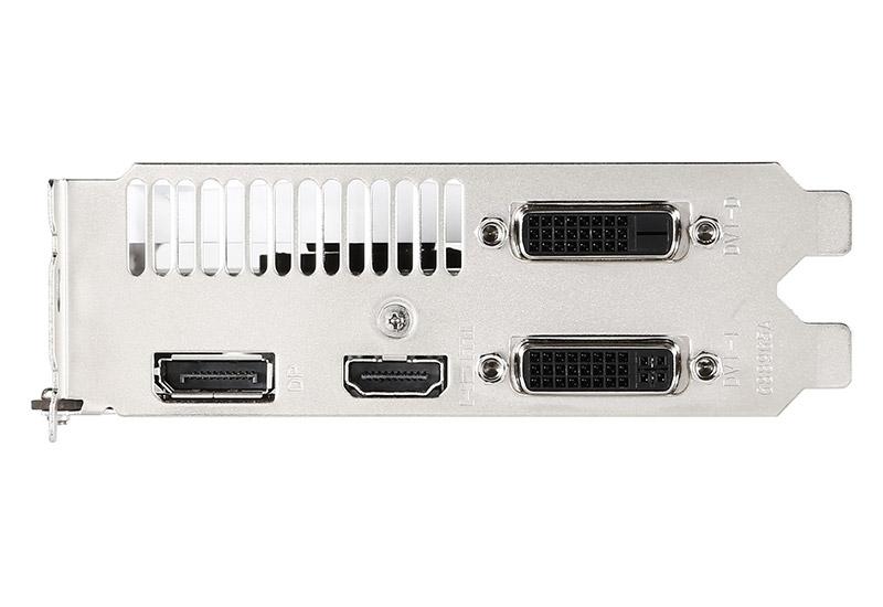 MSI NVIDIA GeForce GTX 950搭載モノトーンデザインのショートサイズグラフィックスボード  (GTX950 2GD5OC)